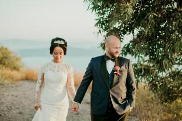 Intimate & Luxurious Cliffside Santorini Wedding   Stella and Moscha   Nikos Gogas 52