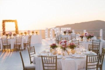 Intimate & Luxurious Cliffside Santorini Wedding   Stella and Moscha   Nikos Gogas 56