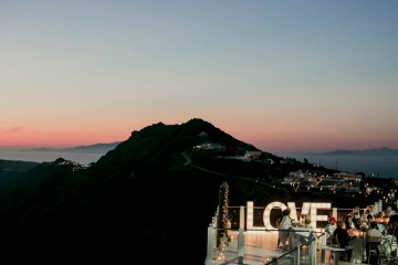Intimate & Luxurious Cliffside Santorini Wedding   Stella and Moscha   Nikos Gogas 58