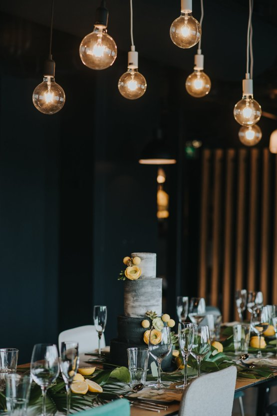 Modern Industrial London Wedding Inspiration With Succulents   Remain in the Light Photography 24
