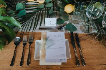 Modern Industrial London Wedding Inspiration With Succulents | Remain in the Light Photography 31