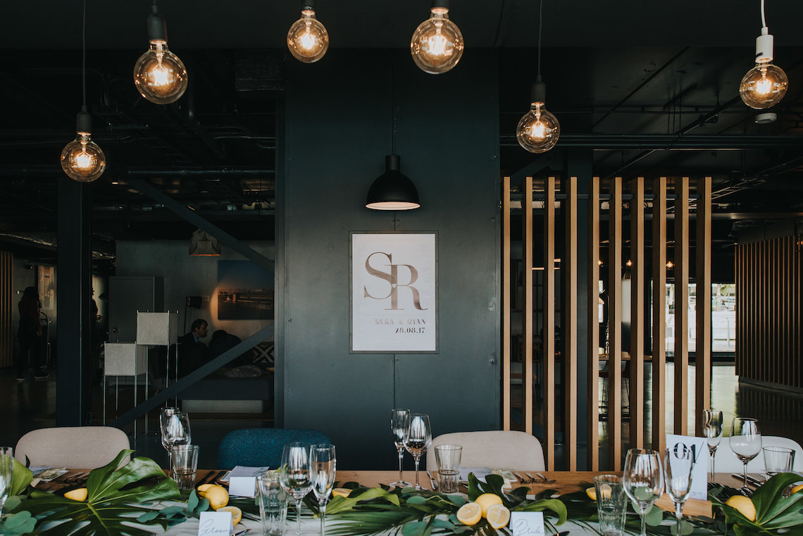 Modern Industrial London Wedding Inspiration With Succulents   Remain in the Light Photography 34