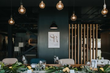 Modern Industrial London Wedding Inspiration With Succulents | Remain in the Light Photography 34