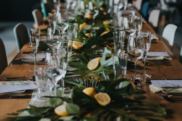 Modern Industrial London Wedding Inspiration With Succulents | Remain in the Light Photography 45