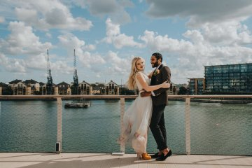 Modern Industrial London Wedding Inspiration With Succulents | Remain in the Light Photography 54