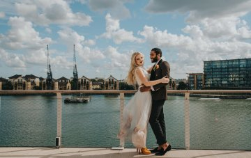 Modern Industrial London Wedding Inspiration With Succulents