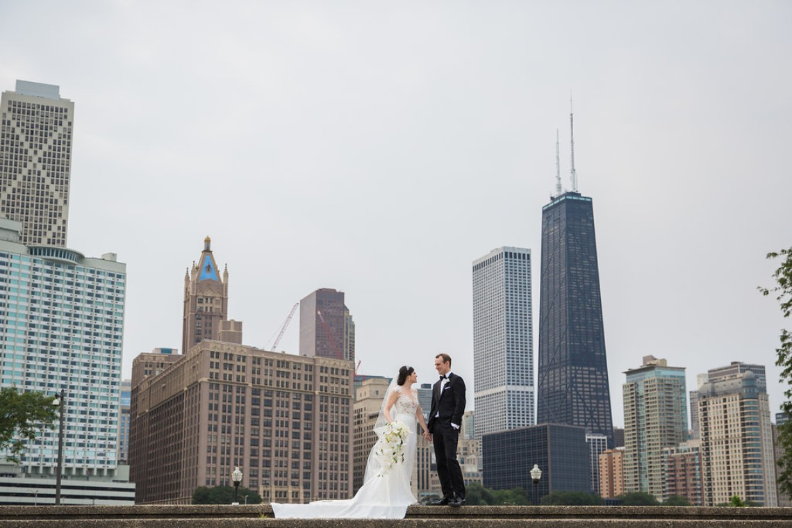 Practically Royal Luxe Chicago Cathedral Wedding | Christina G Photography | LOLA Event Productions 11