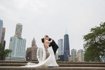 Practically Royal Luxe Chicago Cathedral Wedding | Christina G Photography | LOLA Event Productions 12