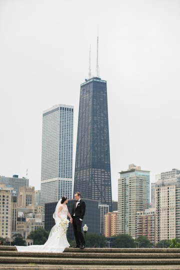 Practically Royal Luxe Chicago Cathedral Wedding | Christina G Photography | LOLA Event Productions 44
