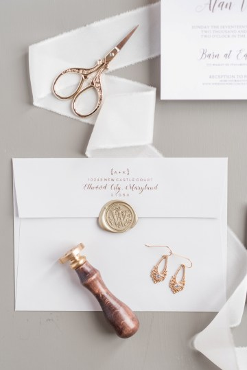 Pretty Pink DIY Barn Wedding With Loads Of Calligraphy Ideas | Audrey Rose Photography 17