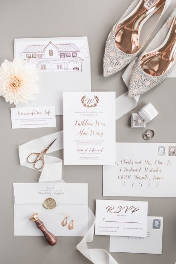 Pretty Pink DIY Barn Wedding With Loads Of Calligraphy Ideas | Audrey Rose Photography 18
