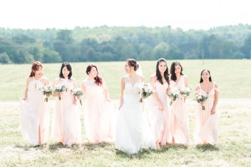 Pretty Pink DIY Barn Wedding With Loads Of Calligraphy Ideas | Audrey Rose Photography 3