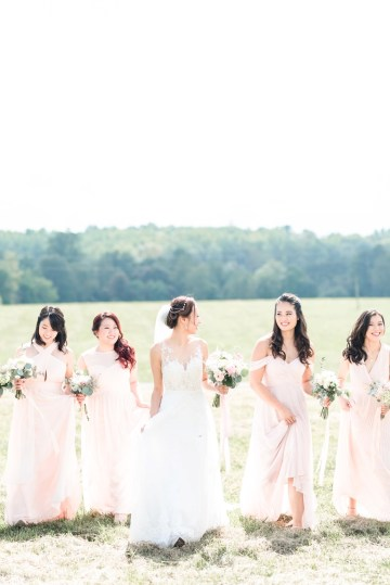 Pretty Pink DIY Barn Wedding With Loads Of Calligraphy Ideas | Audrey Rose Photography 40