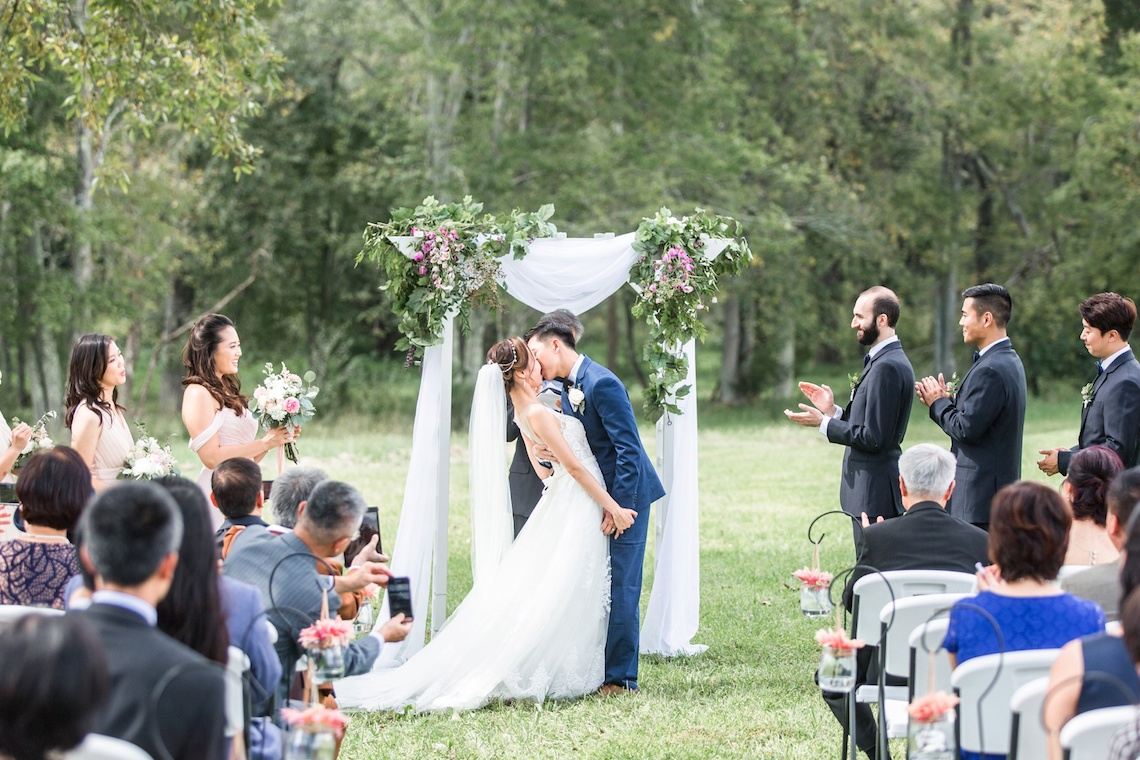 Pretty Pink DIY Barn Wedding With Loads Of Calligraphy Ideas | Audrey Rose Photography 6