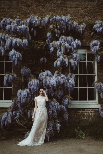 Romantic Wisteria Wedding Inspiration At Fulham Palace | Kitty Wheeler Shaw Photography 23