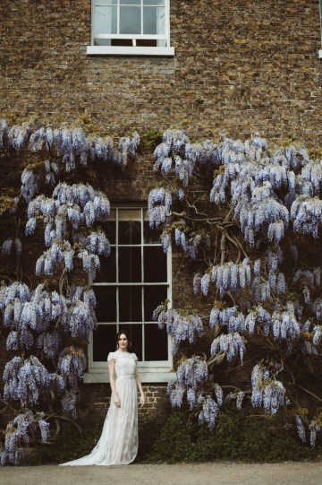 Romantic Wisteria Wedding Inspiration At Fulham Palace | Kitty Wheeler Shaw Photography 24