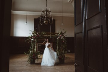 Romantic Wisteria Wedding Inspiration At Fulham Palace | Kitty Wheeler Shaw Photography 50