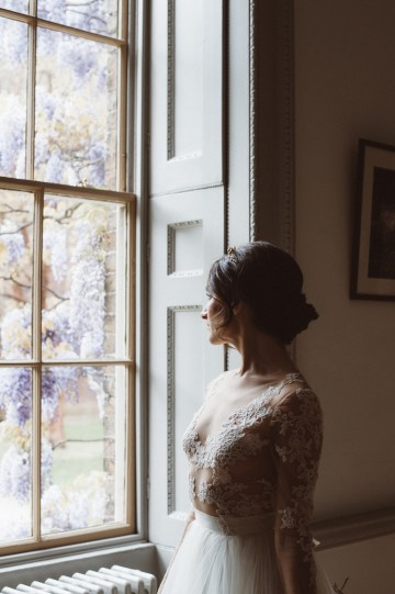 Romantic Wisteria Wedding Inspiration At Fulham Palace | Kitty Wheeler Shaw Photography 6