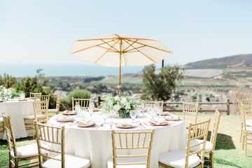 Sparkling Pink & Gold California Wedding | Haley Richter Photography 10
