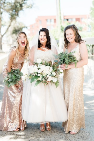 Sparkling Pink & Gold California Wedding | Haley Richter Photography 49