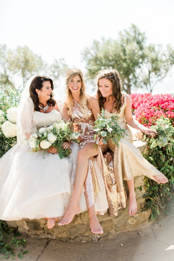 Sparkling Pink & Gold California Wedding | Haley Richter Photography 76