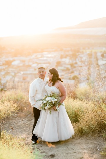 Sparkling Pink & Gold California Wedding | Haley Richter Photography 83