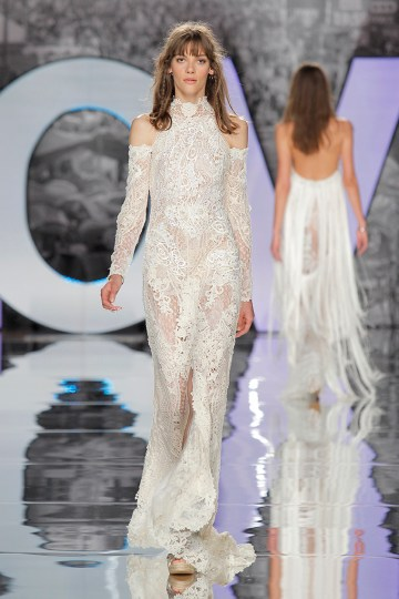 The Sexy & Embellished New Yolan Cris Wedding Dress Collections   DOME (2)