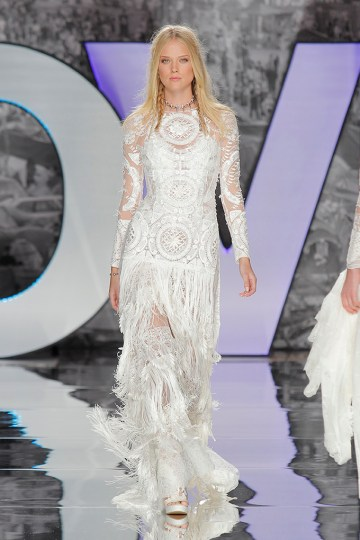 The Sexy & Embellished New Yolan Cris Wedding Dress Collections | FABREGA BLOUSE AND DRESS