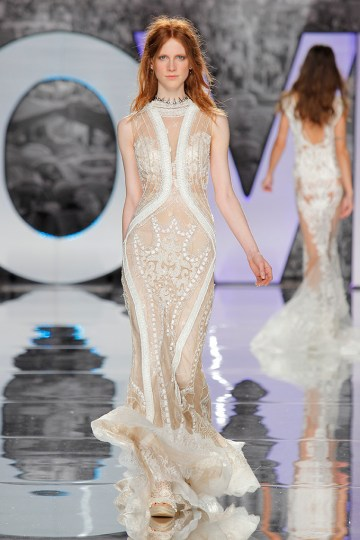 The Sexy & Embellished New Yolan Cris Wedding Dress Collections   GARMO (3)