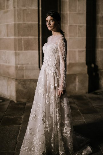 The Sexy & Embellished New YolanCris Wedding Dress Collections   Couture 5