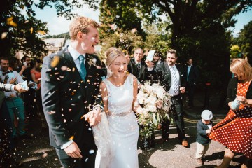 Totally Chic English Wedding With A Sweet Boat Ride   Oak & Blossom 26