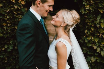 Totally Chic English Wedding With A Sweet Boat Ride   Oak & Blossom 43