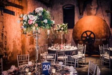 Edgy & Romantic Distillery Wedding | AGI Studio 10