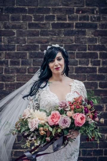 Edgy & Romantic Distillery Wedding | AGI Studio 32