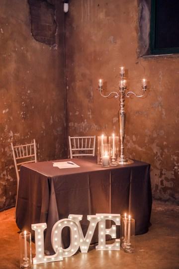 Edgy & Romantic Distillery Wedding | AGI Studio 33