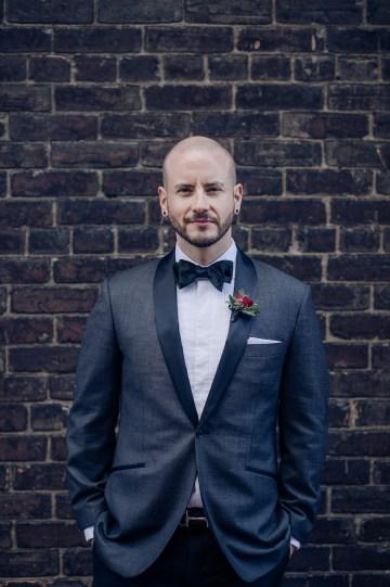 Edgy & Romantic Distillery Wedding | AGI Studio 35