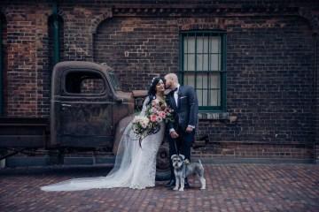 Edgy & Romantic Distillery Wedding | AGI Studio 5