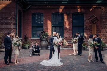 Edgy & Romantic Distillery Wedding | AGI Studio 9
