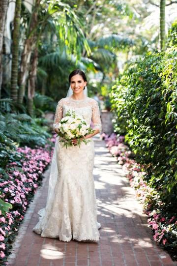 Glamorous Santa Barbara Wedding (With The Sweetest Flower Girl!)   Laurie Bailey Photo 26