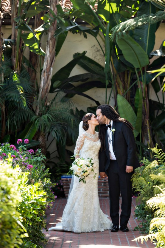 Glamorous Santa Barbara Wedding (With The Sweetest Flower Girl!) | Laurie Bailey Photo 29