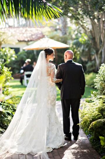 Glamorous Santa Barbara Wedding (With The Sweetest Flower Girl!)   Laurie Bailey Photo 36