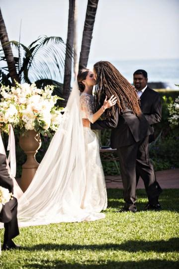 Glamorous Santa Barbara Wedding (With The Sweetest Flower Girl!)   Laurie Bailey Photo 37