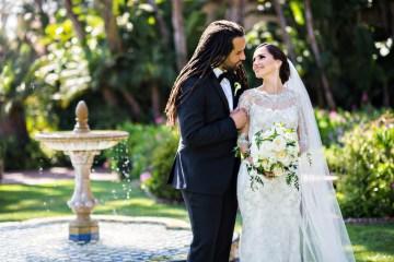 Glamorous Santa Barbara Wedding (With The Sweetest Flower Girl!)   Laurie Bailey Photo 4