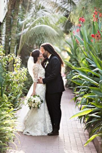 Glamorous Santa Barbara Wedding (With The Sweetest Flower Girl!)   Laurie Bailey Photo 40