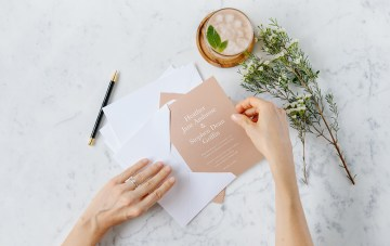 When To Send Those Wedding Invites: The Artifact Uprising DIY Stationery Guide