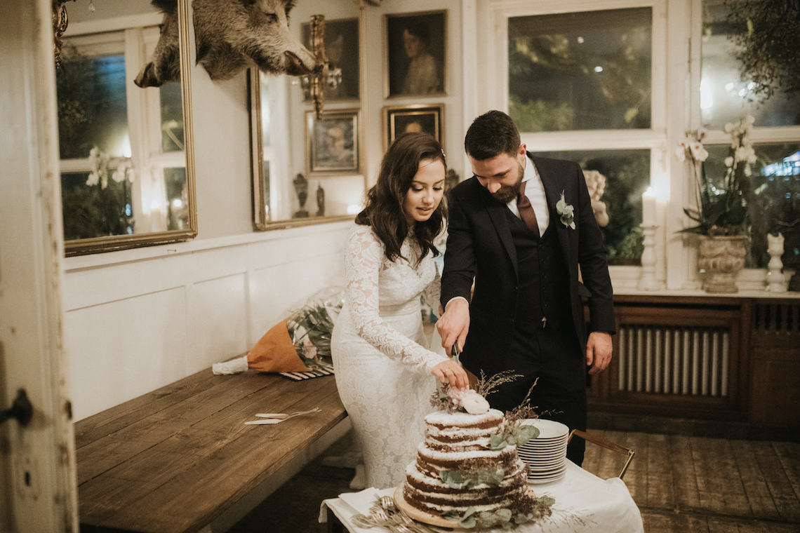 Intimate, Romantic, Vintage Chapel Wedding Film In Germany | Iluminen Photography 9
