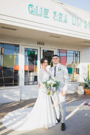 Modern Hip Taco Wedding In A Funky Gallery Venue   Claire Eliza 19