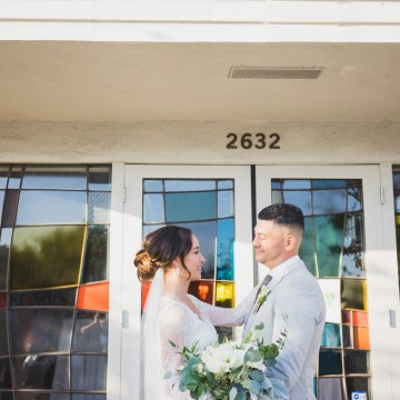 Modern Hip Taco Wedding In A Funky Gallery Venue | Claire Eliza 24
