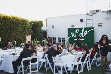 Modern Hip Taco Wedding In A Funky Gallery Venue | Claire Eliza 35