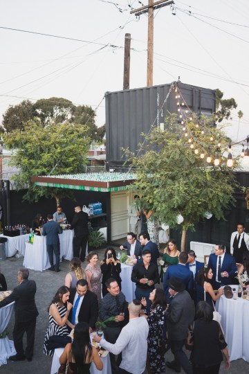 Modern Hip Taco Wedding In A Funky Gallery Venue | Claire Eliza 43